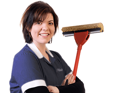 Image of cleaning lady