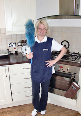 One of our cleaning specialists