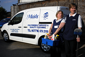 Domestic Cleaning - Cleaning specialists & The Maids' Van