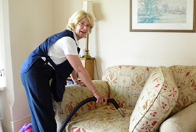 House Cleaning - Upholstery cleaning